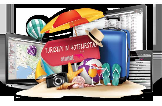 Turizem in hotelirstvo - Preproste in prilagodljive programske rešitve Sledat za turizem in hotelirstvo